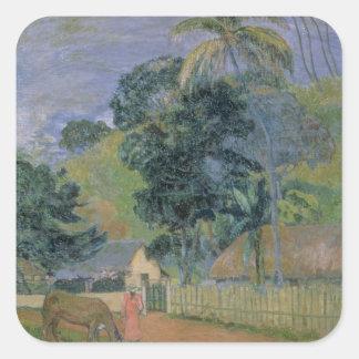 Landscape, 1899 square sticker