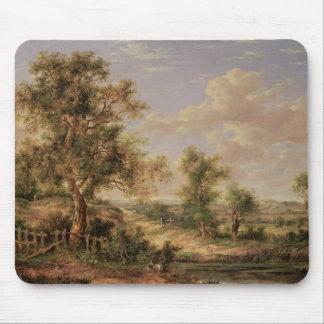 Landscape, 19th century mouse pad