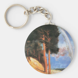 Landscape 2 by Lesser Ury Key Chain