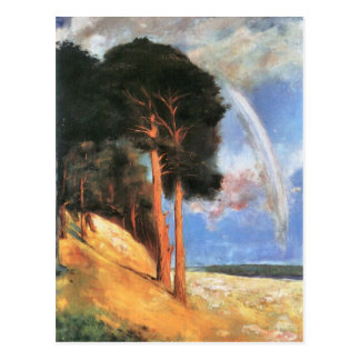 Landscape 2 by Lesser Ury Postcard