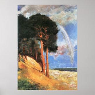 Landscape 2 by Lesser Ury Poster