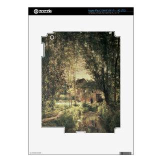 Landscape 2 iPad 3 decal