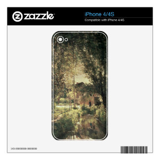 Landscape 2 iPhone 4S decal