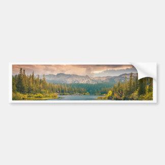 landscape-33654 car bumper sticker