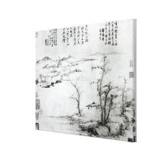 Landscape 3 canvas print