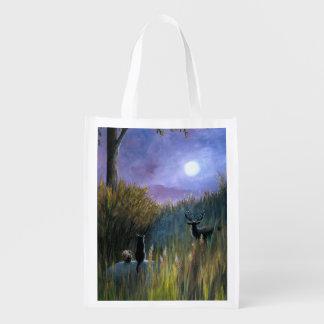 Landscape 464 reusable grocery bag