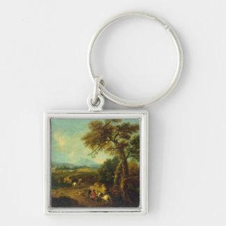 Landscape 4 keychain