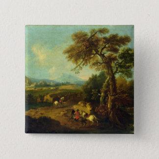 Landscape 4 pinback button