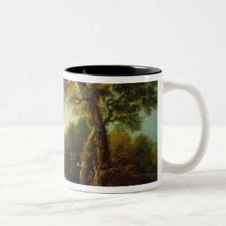 Landscape 4 Two-Tone coffee mug