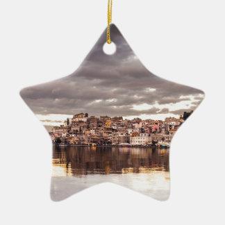 landscape-657 ceramic ornament