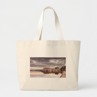 landscape-657 large tote bag