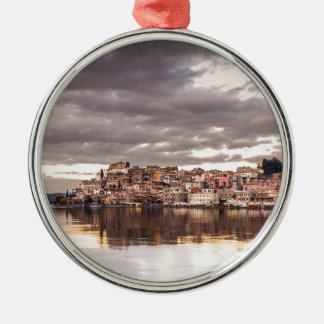 landscape-657 metal ornament