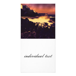 landscape altered colors 06 tenerife photo greeting card