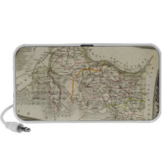 Landscape and towns portable speakers