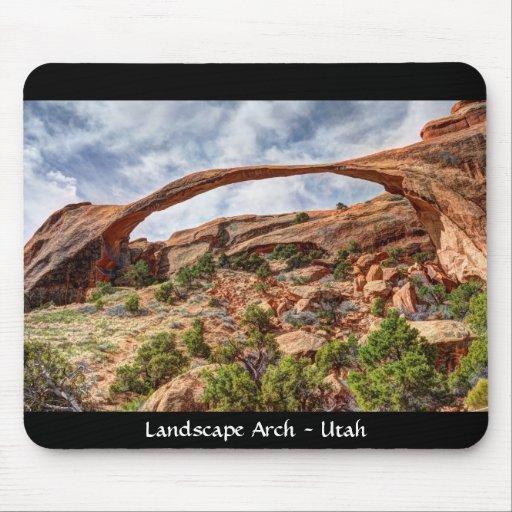 Landscape Arch - Arches National Park Mouse Pad