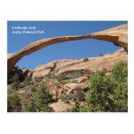 Landscape Arch, Arches National Park Postcard