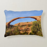 Landscape Arch at Arches National Park Accent Pillow