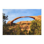 Landscape Arch at Arches National Park Canvas Print