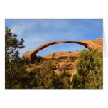 Landscape Arch at Arches National Park Card