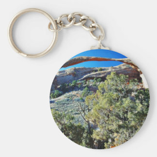 Landscape Arch At Arches National Park Keychains