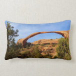 Landscape Arch at Arches National Park Lumbar Pillow