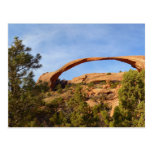 Landscape Arch at Arches National Park Postcard