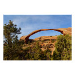 Landscape Arch at Arches National Park Poster