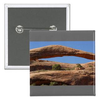 Landscape Arch Pinback Button
