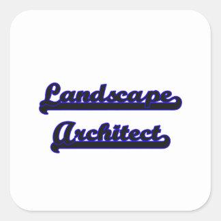 Landscape Architect Classic Job Design Square Sticker