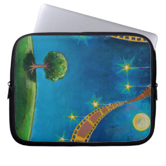 Landscape art films movies photographers night sky laptop computer sleeves