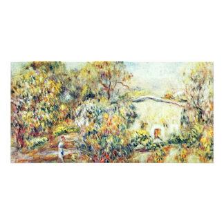 Landscape At Cagnes By Pierre-Auguste Renoir Photo Cards
