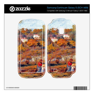 Landscape at Cagnes by Pierre Renoir Samsung Continuum Skin