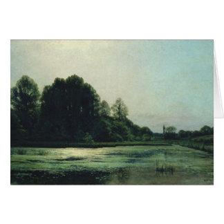 Landscape at Cernay, 1866 Greeting Card