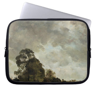 Landscape at Hampstead, Tree and Storm Clouds, c.1 Computer Sleeve
