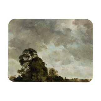 Landscape at Hampstead, Tree and Storm Clouds, c.1 Magnet