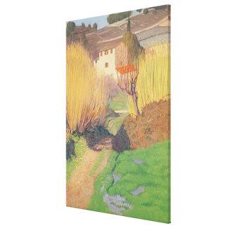 Landscape at Lagnes, 1921 Canvas Print