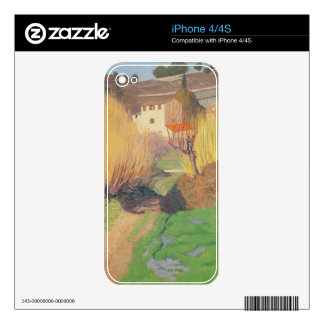 Landscape at Lagnes, 1921 Skin For The iPhone 4