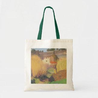 Landscape at Lagnes, 1921 Tote Bag