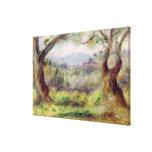 Landscape at Les Collettes, 1910 Canvas Prints