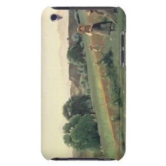 Landscape at Mornex, Haute-Savoie (oil on canvas) iPod Touch Case-Mate Case