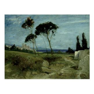 Landscape at Nettuno, 1887 Postcard