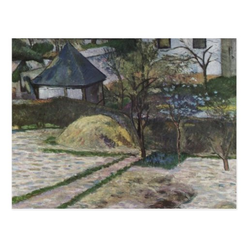 Landscape at Osny - 1881 Postcard