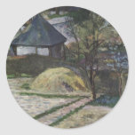 Landscape at Osny - 1881 Round Stickers