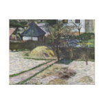 Landscape at Osny - Paul Gauguin (1881) Canvas Prints