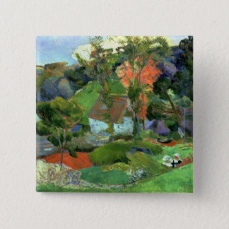 Landscape at Pont Aven, 1888 Pinback Button