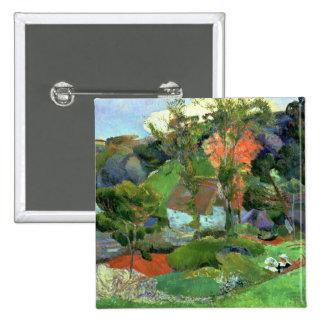 Landscape at Pont Aven, 1888 Pinback Button