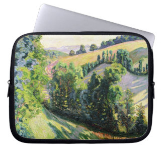 Landscape at Pontgibaud, c.1895 (oil on canvas) Laptop Sleeve