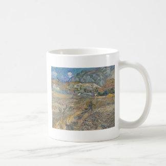 Landscape at Saint-Rémy ; Vincent Van Gogh Coffee Mug