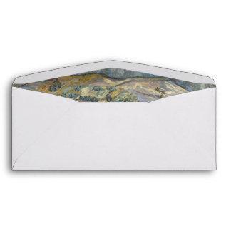 Landscape at Saint-Rémy ; Vincent Van Gogh Envelope