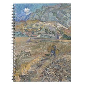 Landscape at Saint-Rémy ; Vincent Van Gogh Notebook